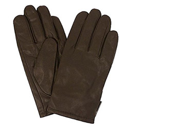 SIDE ZIPPER LEATHER GLOVE