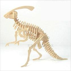 パズルキット 立体的木製恐竜